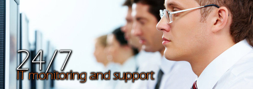 24/7 IT monitoring and support